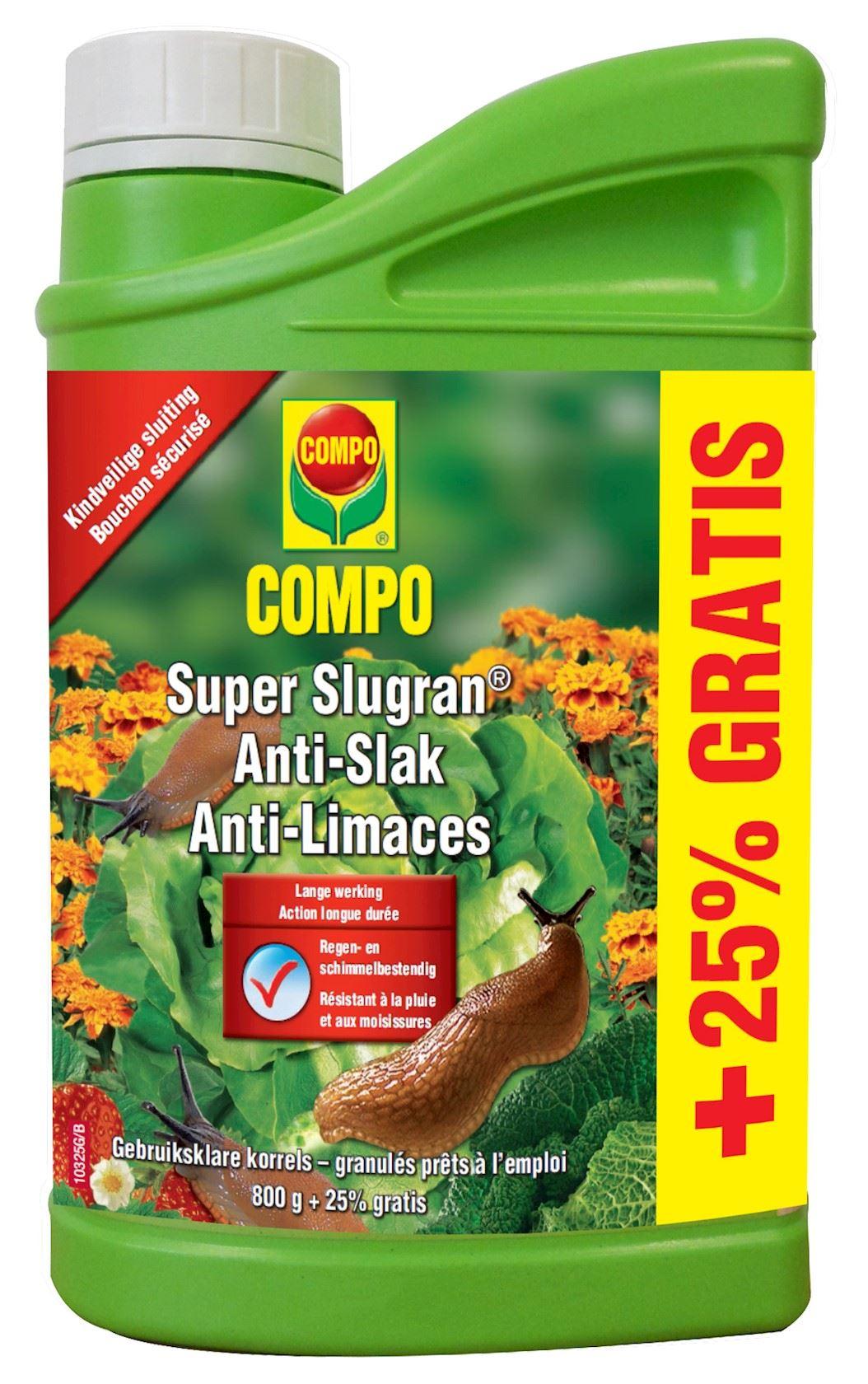 compo-super-slugran-800g-25-gr