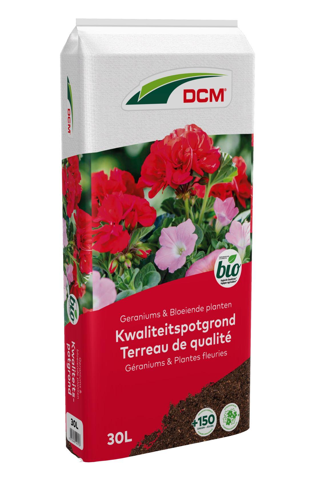 Ecoterra-potgrond-voor-geraniums-bloeiende-planten-30L-Bio-inclusief-meststof