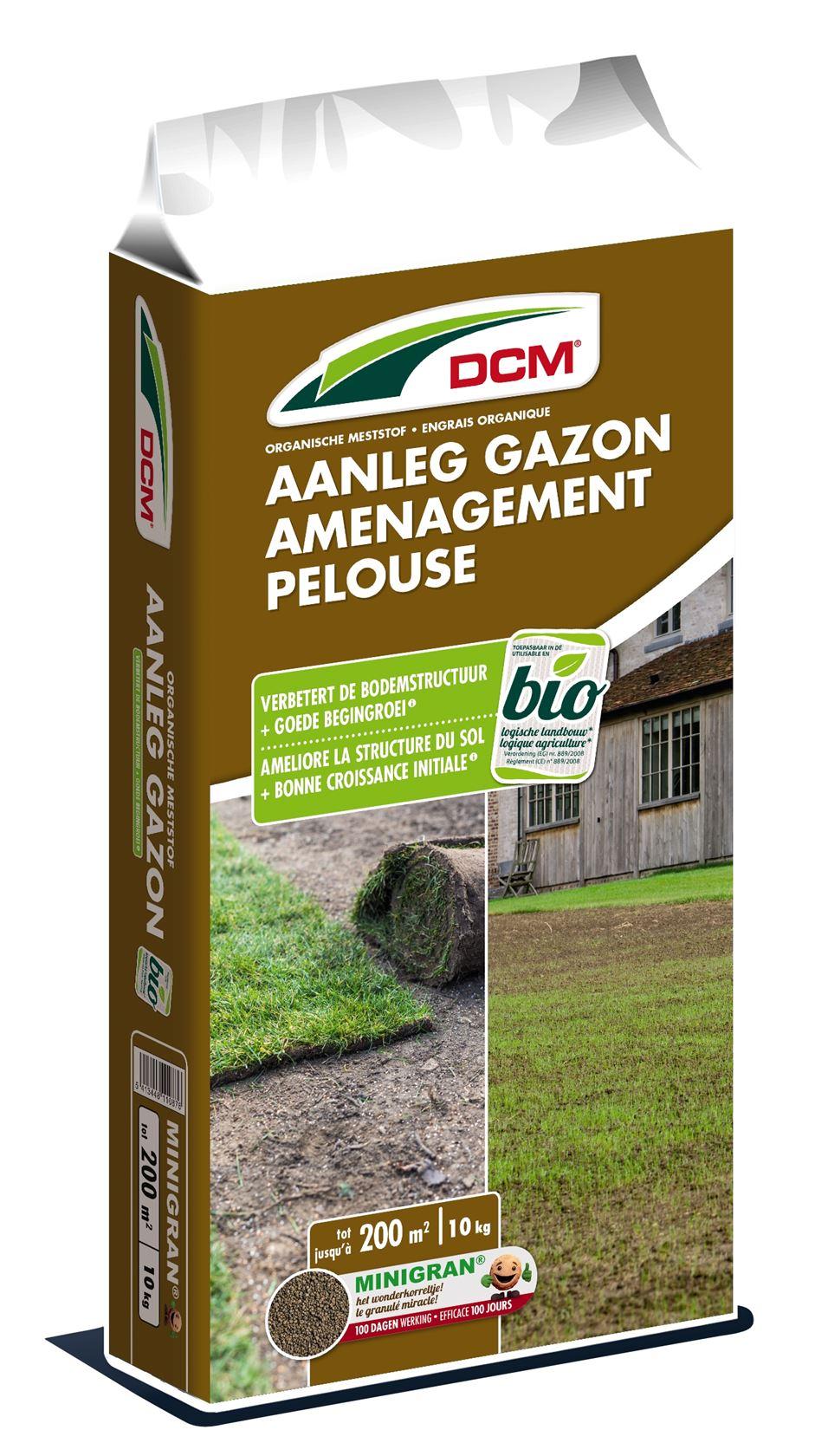 Gazonmeststof-bodemverbeteraar-aanleg-gazon-10kg-Bio