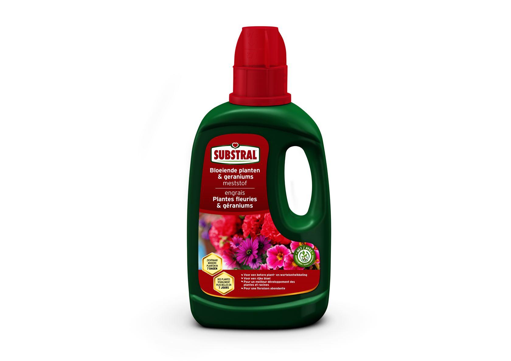 Substral-Meststof-Voor-Bloeiende-Planten-En-Geraniums-500ml