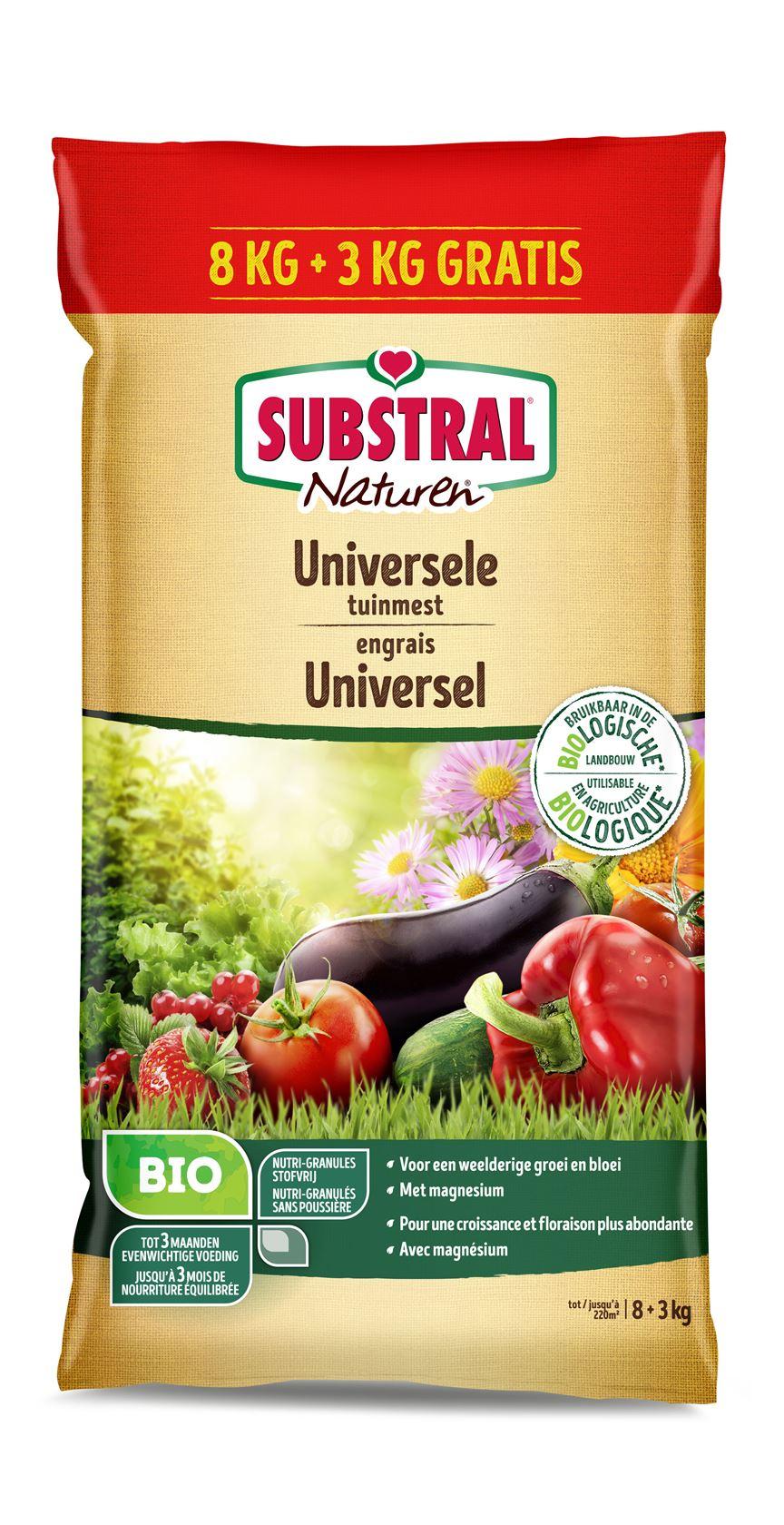 Substral-Naturen-Universele-Tuinmest-8kg-3kg-gratis