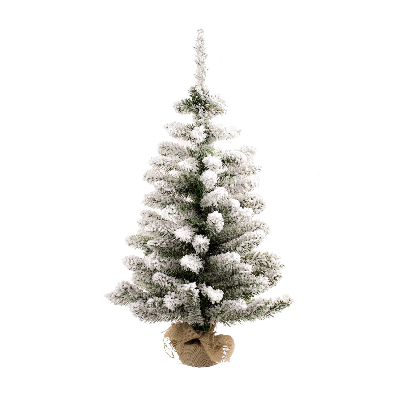 Toronto-White-Flocked-Table-Tree-60cm