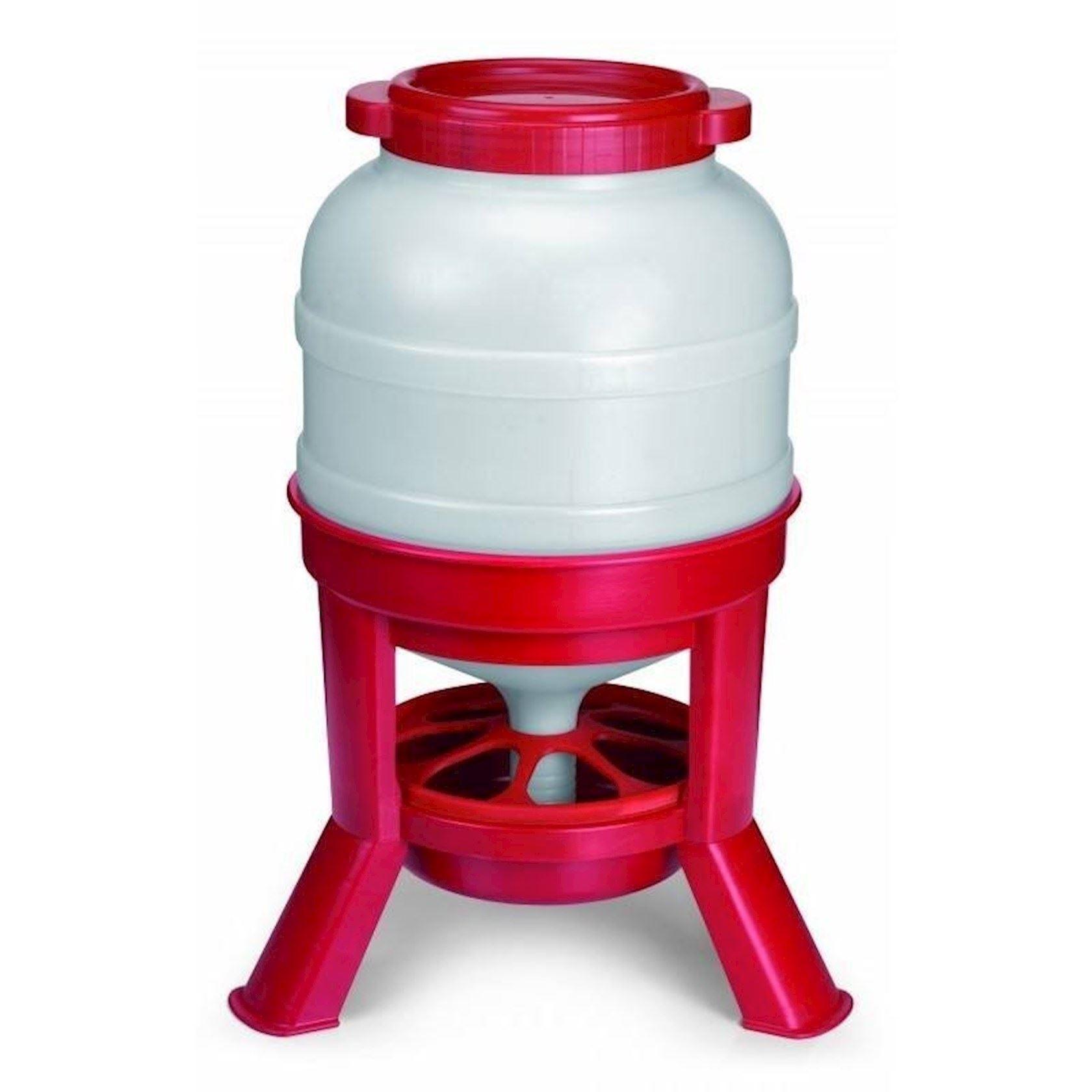 Voedersilo-rood-30-liter