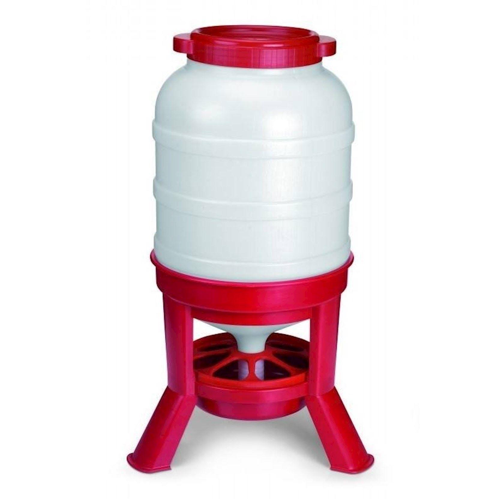 Voedersilo-rood-40-liter