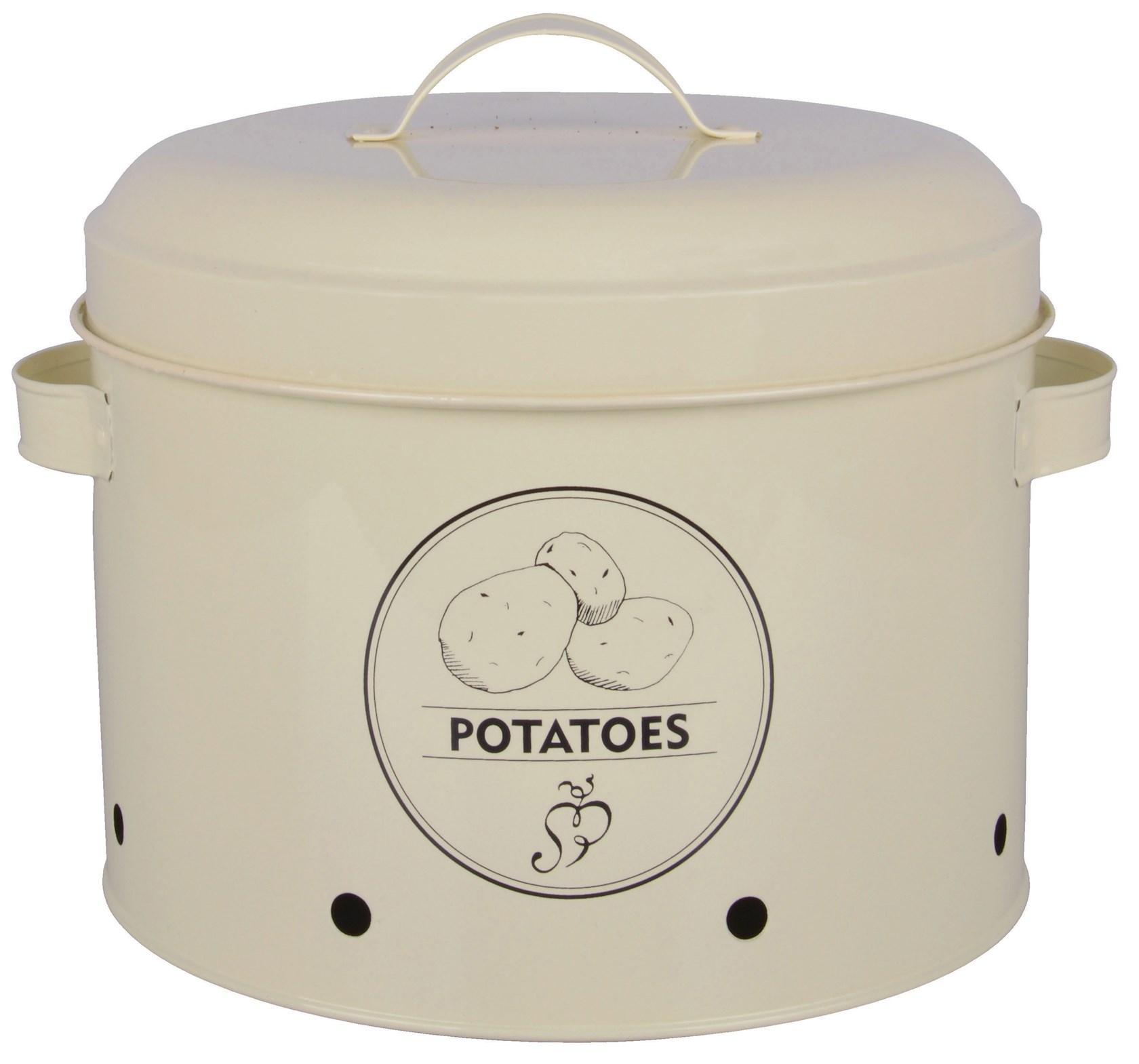 Voorraadblik-aardappels
