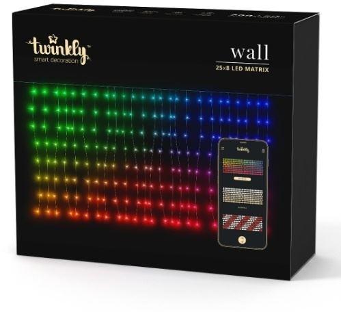 Rideau lumineux multicolore Twinkly smart 250cm (200LED lights) avec application mobile