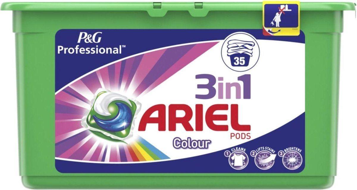 Ariel Wasmiddelcapsules  3 in 1 Pods Color Professional - 35 stuks