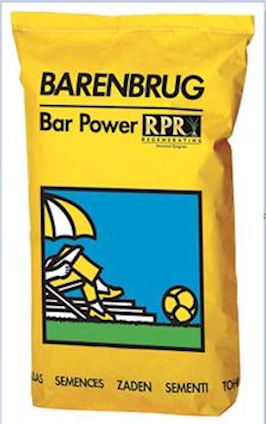 Bar Power RPR - extreem sterk gazon 15Kg met coating (yellow Jacket water management)