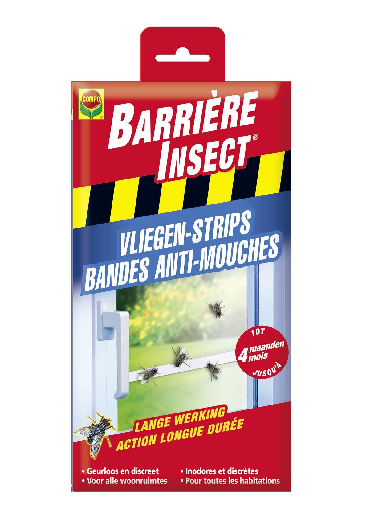 Barrière insect  vliegen-strips - 2x6 stuks