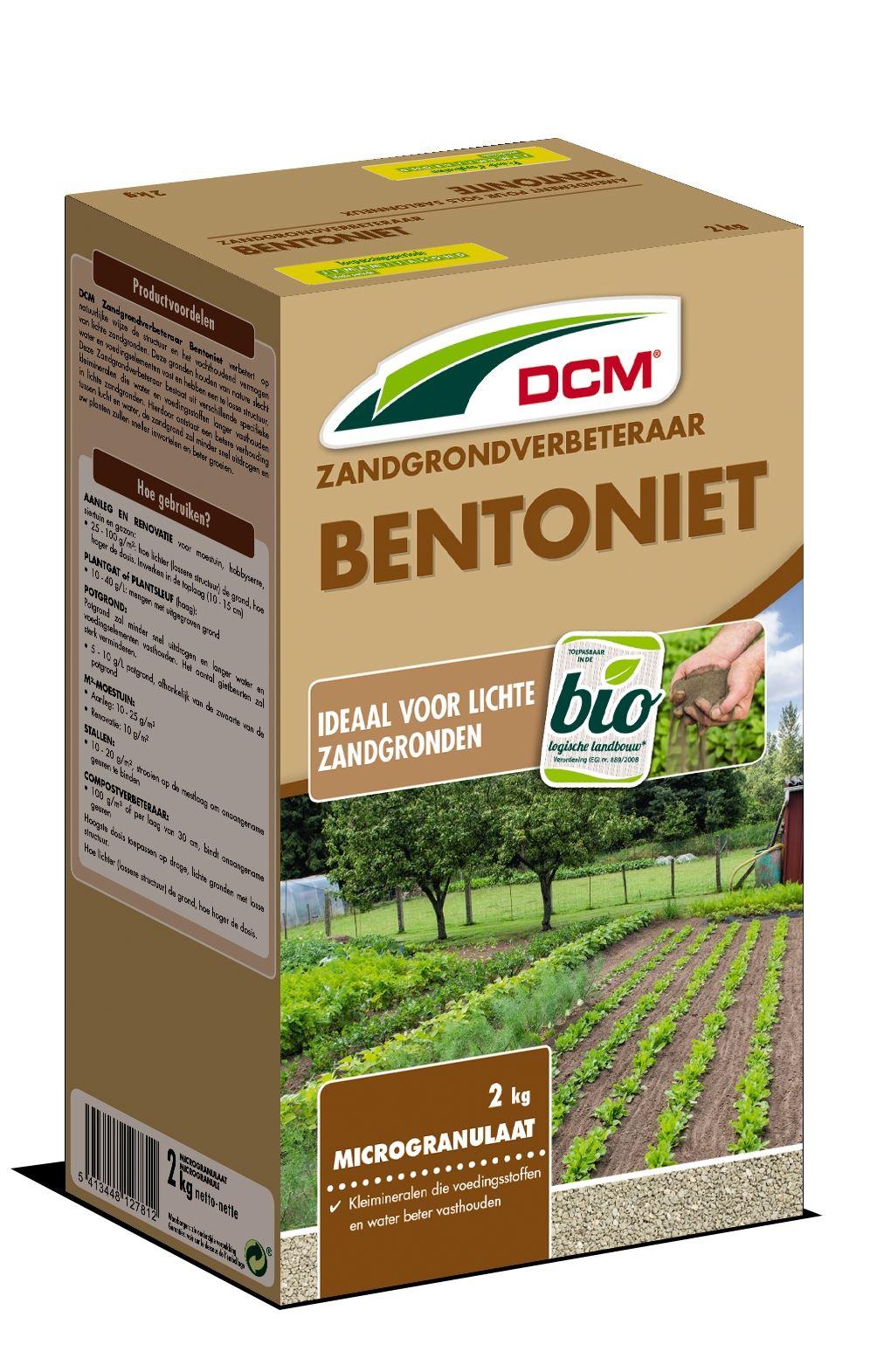 Bentoniet zandgrondverbeteraar 2kg - Bio
