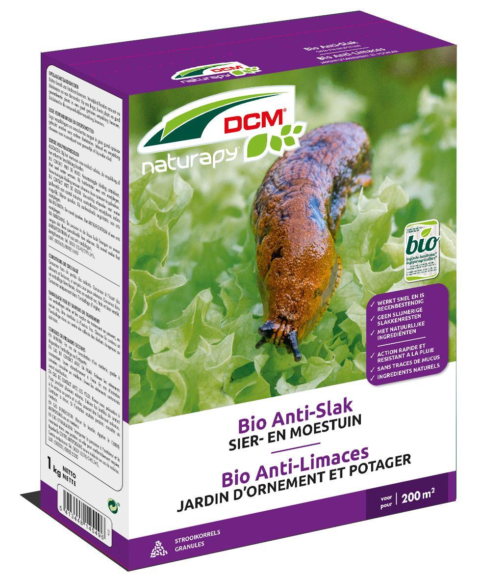 Bio Anti Slak - biologische slakkenkorrels dmv ijzerfosfaat - 1kg (200m²)