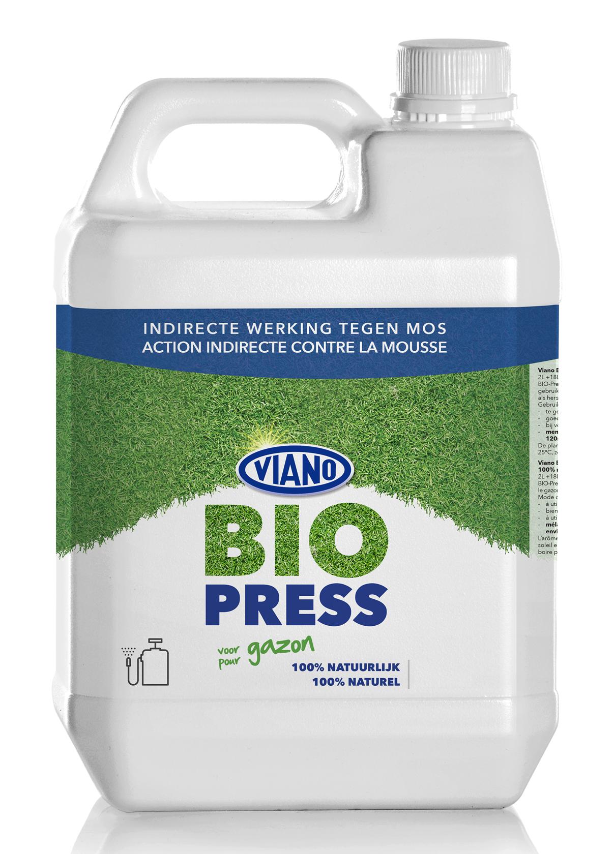 Bio-Press 5L -500-600m² - Natuurlijke bestrijding van mos