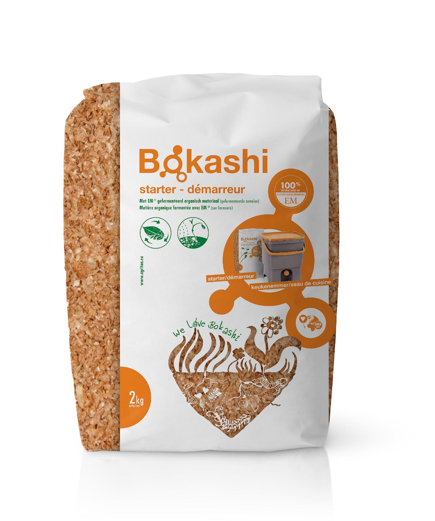 Bokashi-starter 2kg - zet het fermentatieproces op gang
