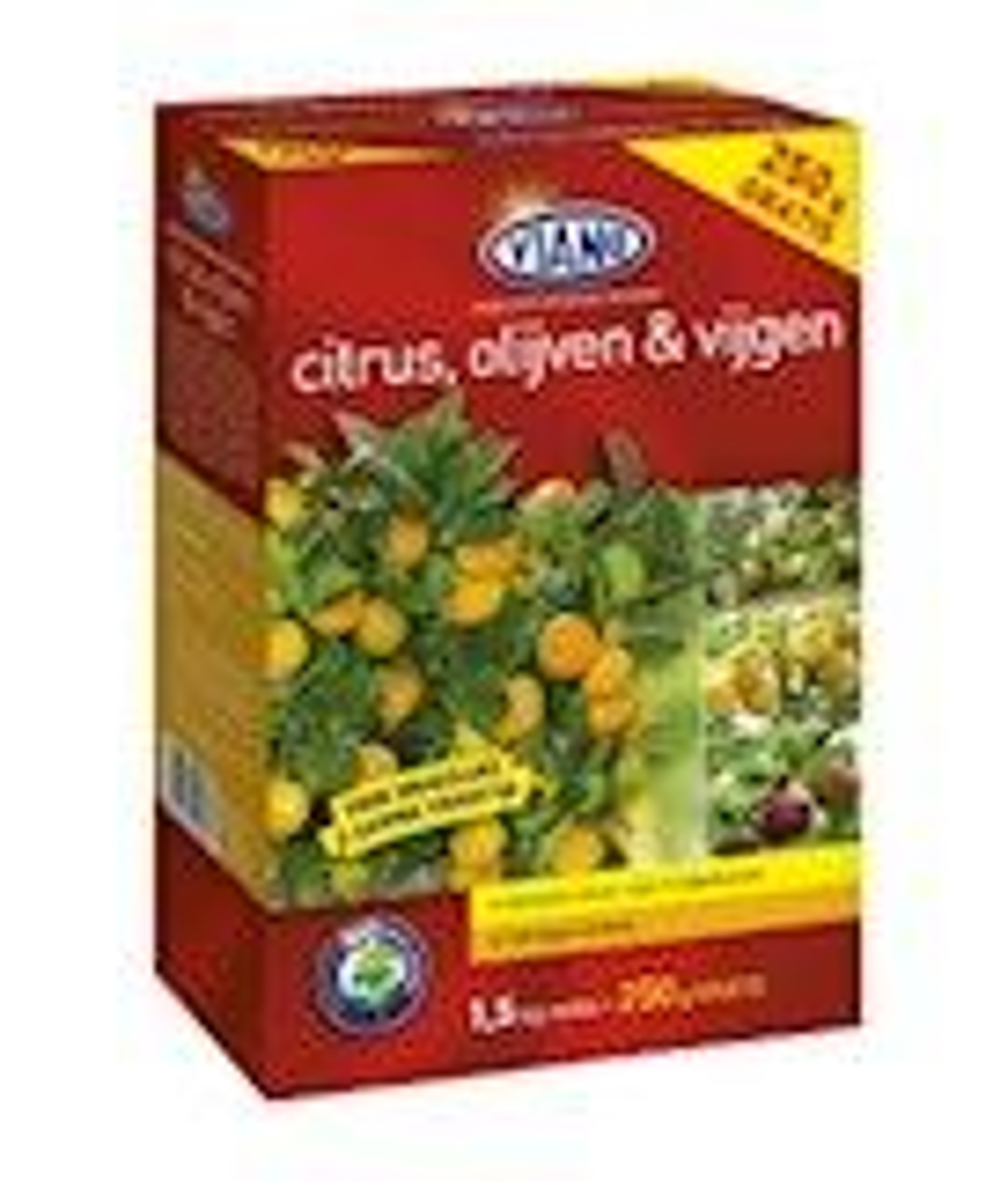 Citrus, olijven en vijgen meststof doos 1,5kg + 250gr gratis