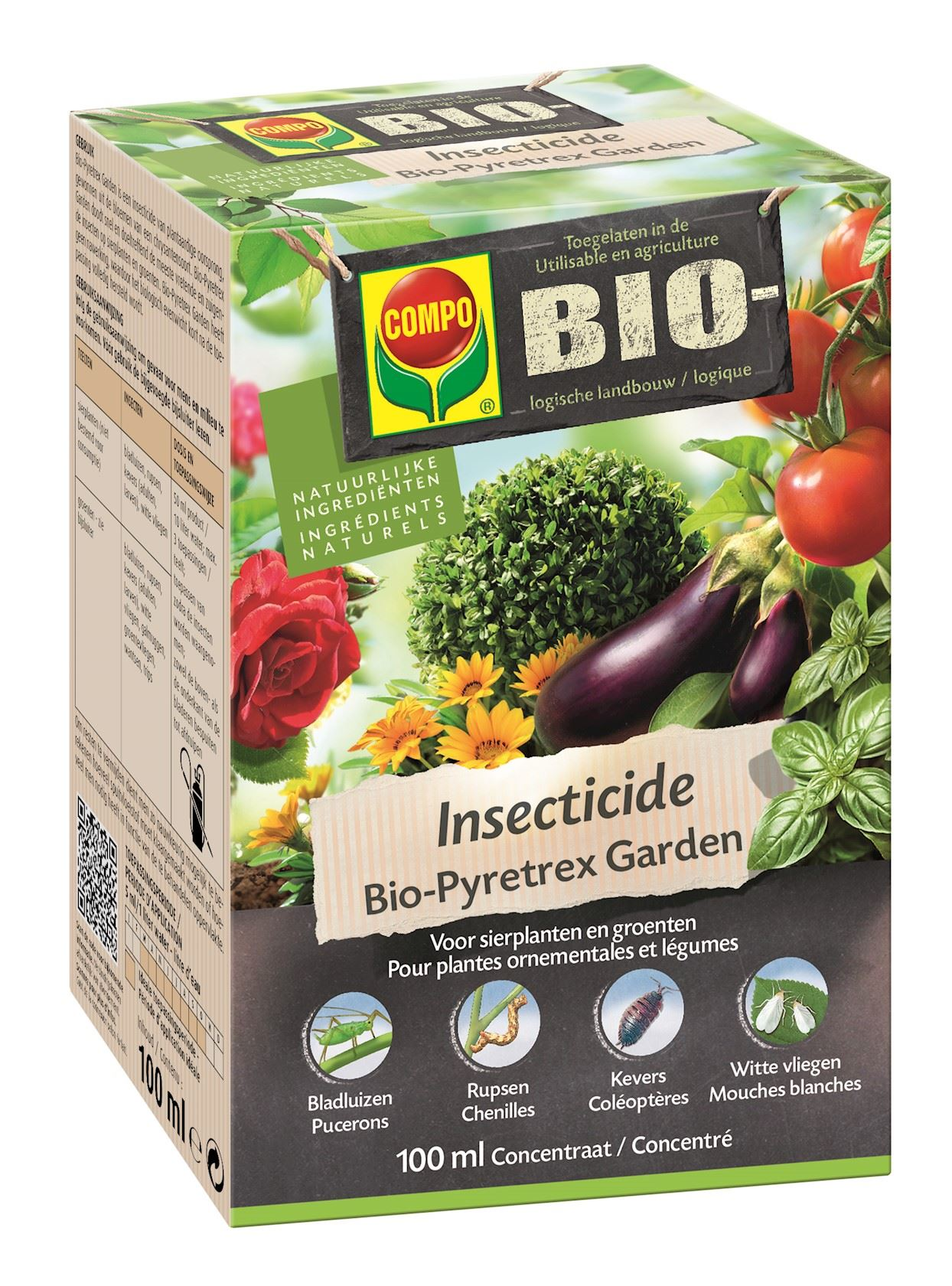 Compo bio insecticide concentraat - 100ml
