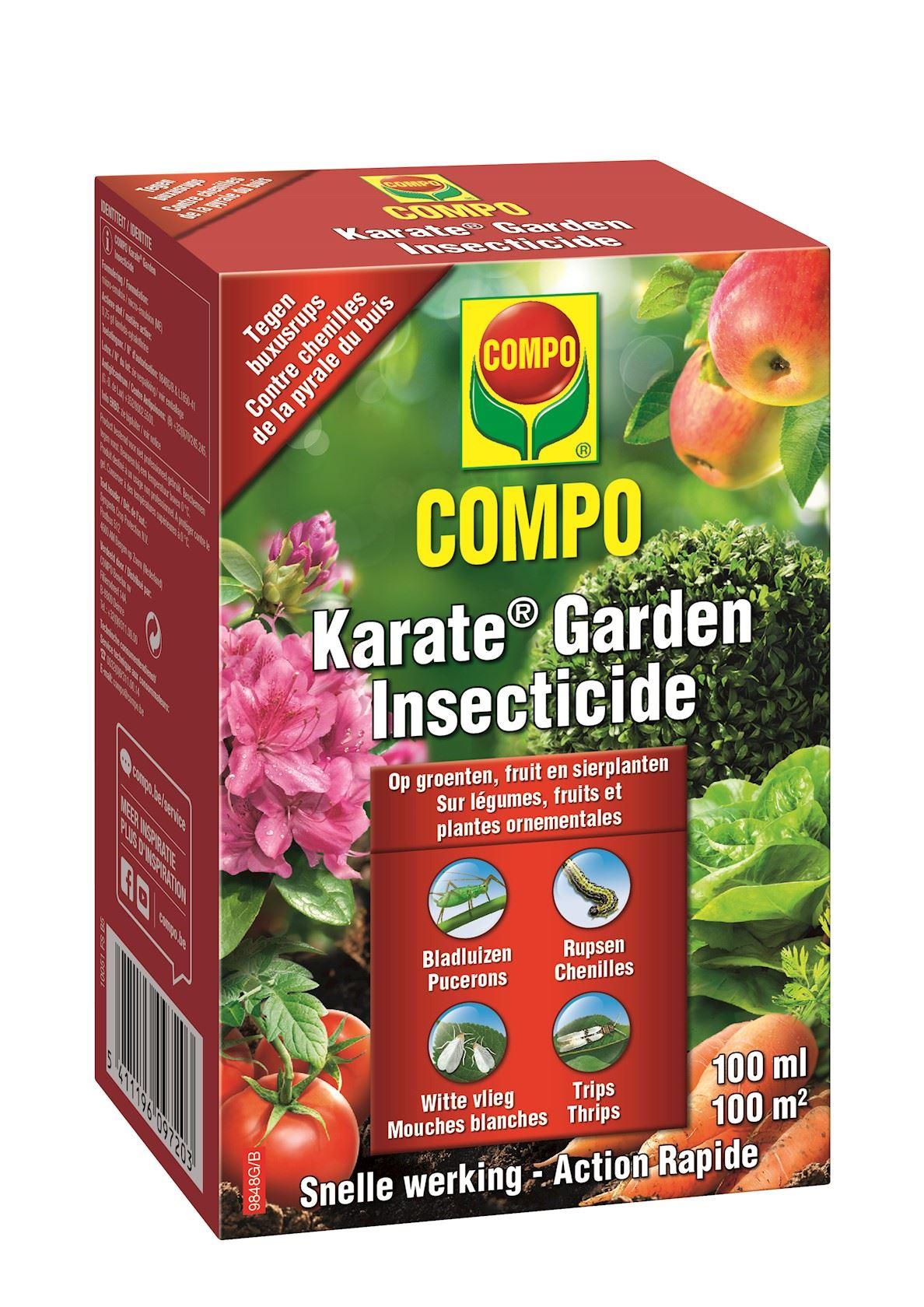 Compo karate garden concentraat - 100ml