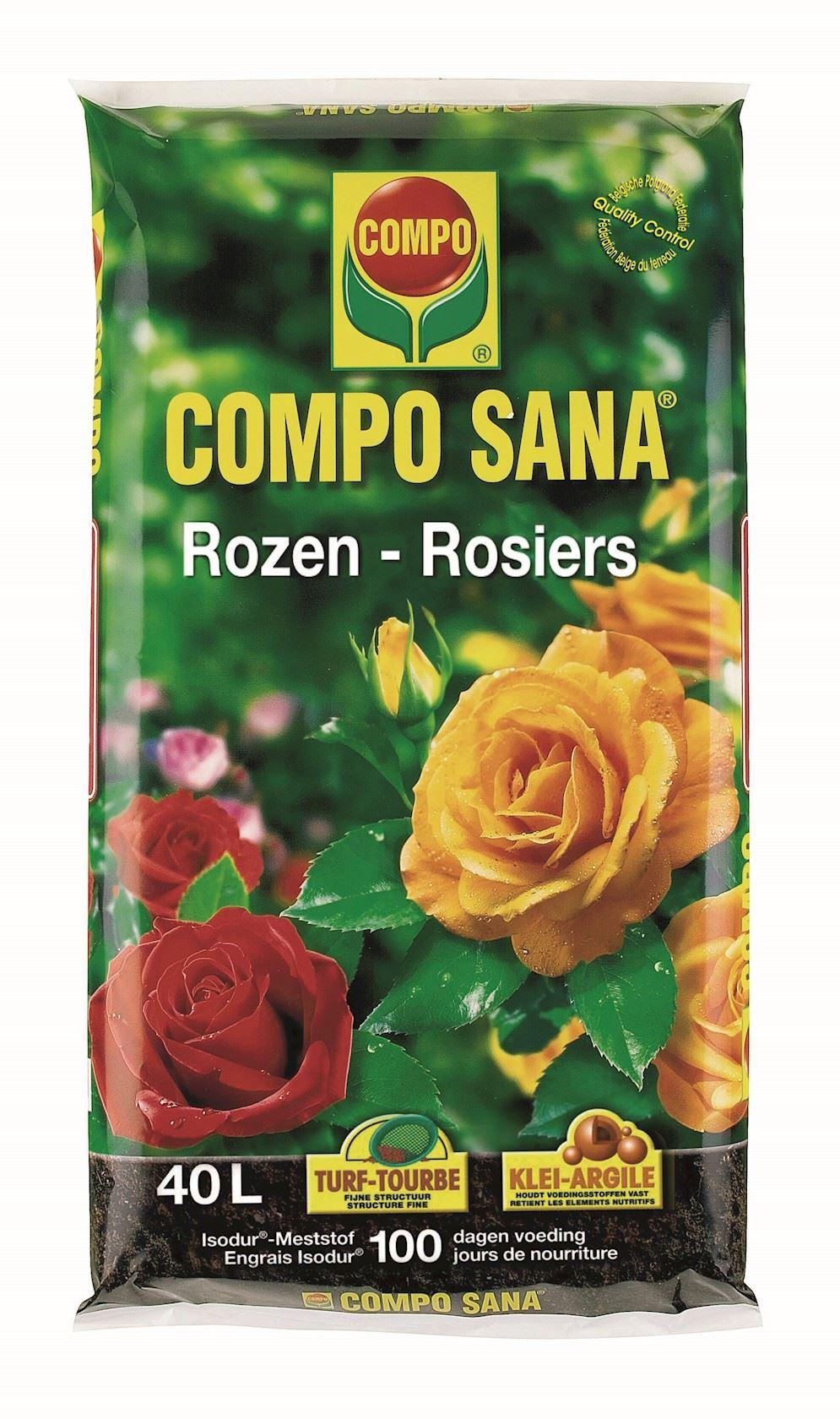 Compo sana rozen - 40L