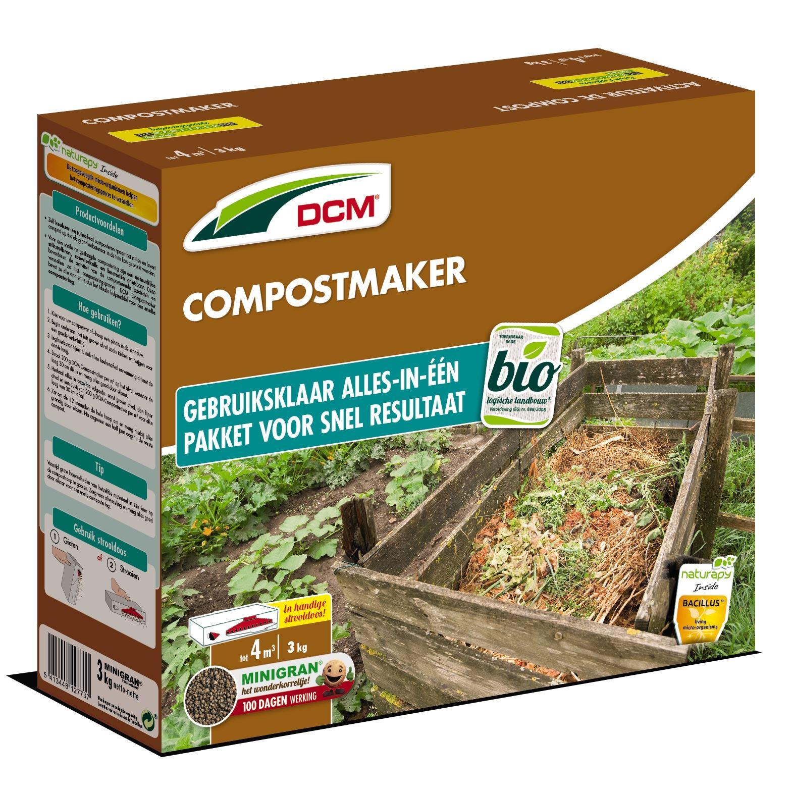 Compostmaker op basis van zeewierkalk 3kg - Bio