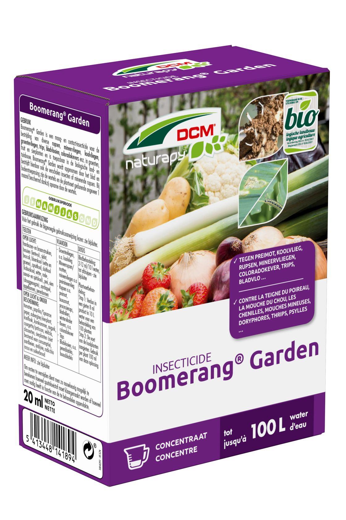 DCM boomerang garden moestuin - 20ml - bio