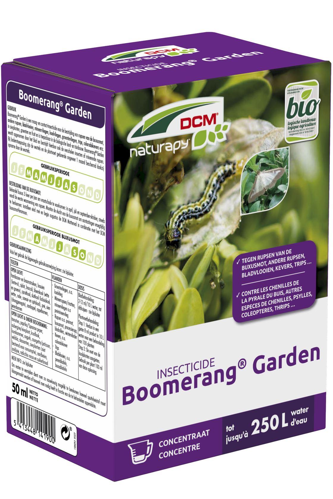 DCM boomerang garden moestuin - 50ml - bio