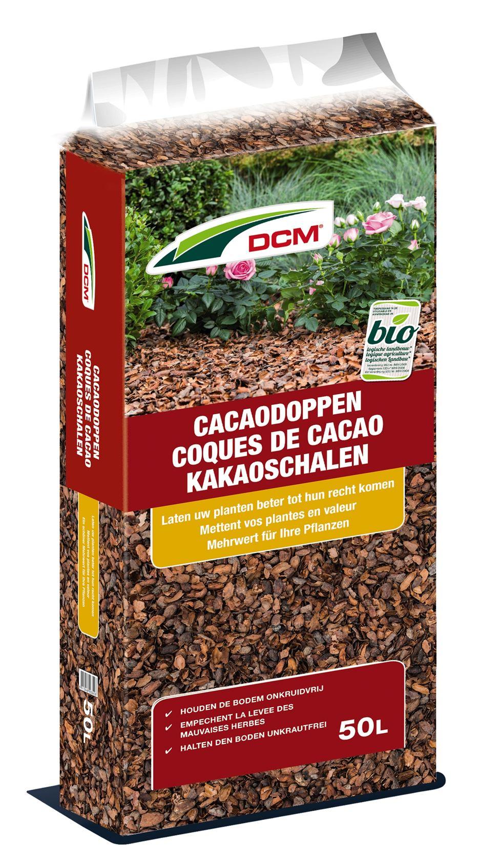DCM cacaodoppen 50L - Bio