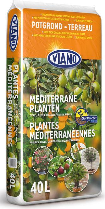 Potgrond voor mediterrane planten 40L - met SunProtection DPF30+
