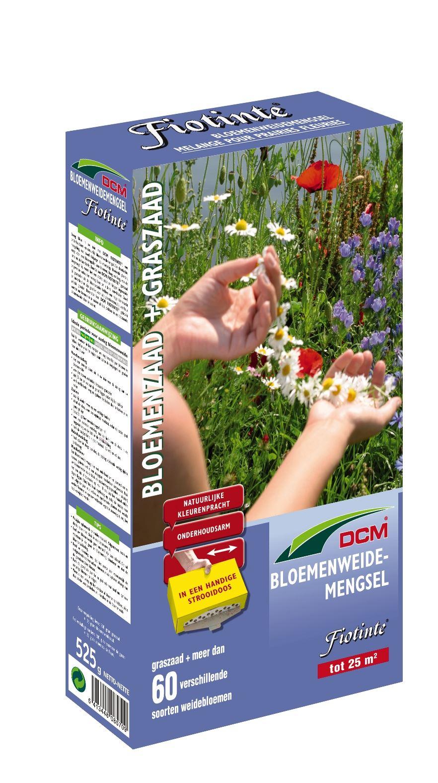 Fiotinte - bloemenweide gemengd met graszaad 525gr