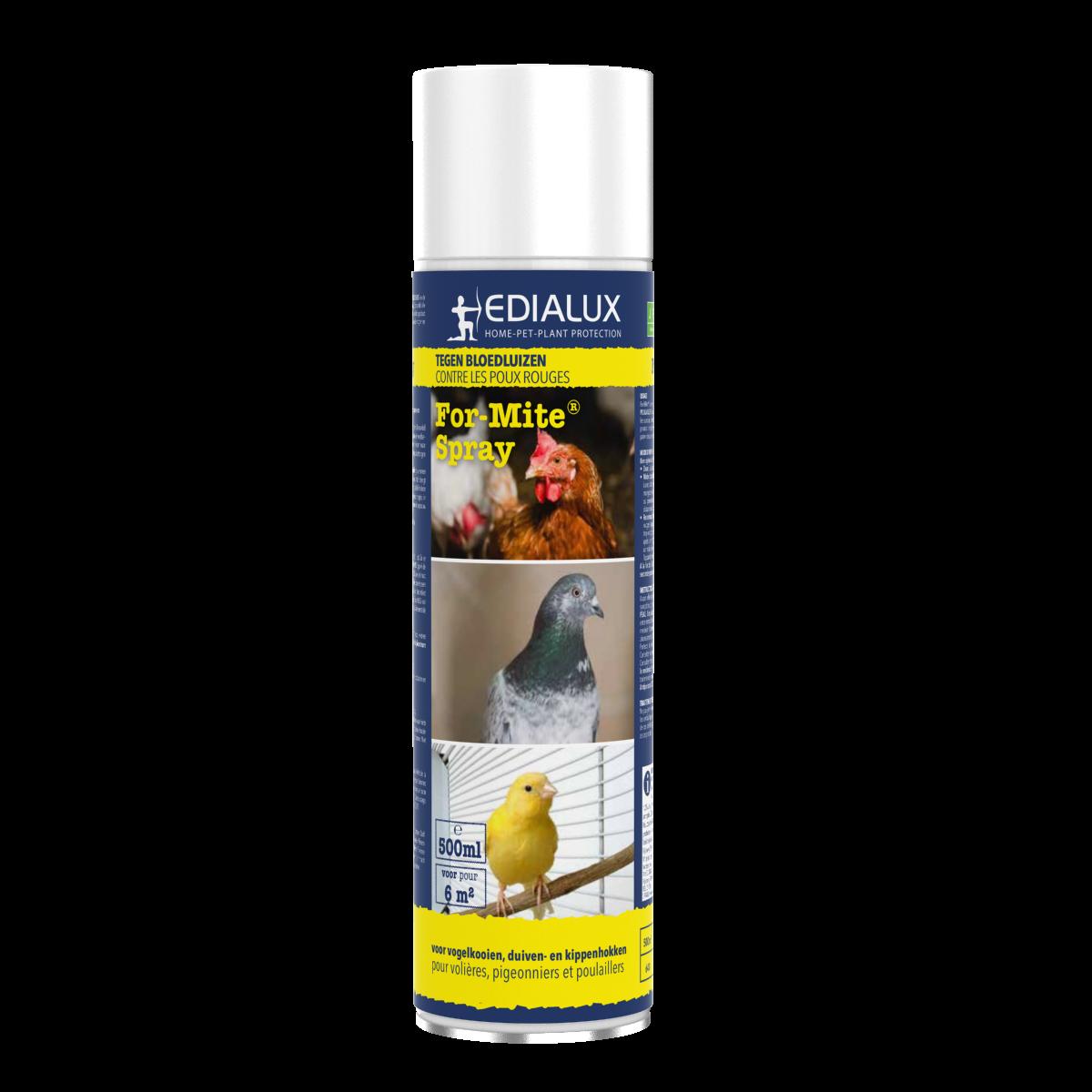 For mite Spray 500ml -  Spuitbus tegen bloedluizen