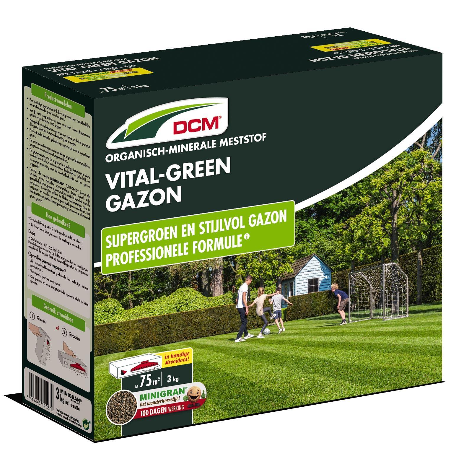 Gazonmest vital green 3kg