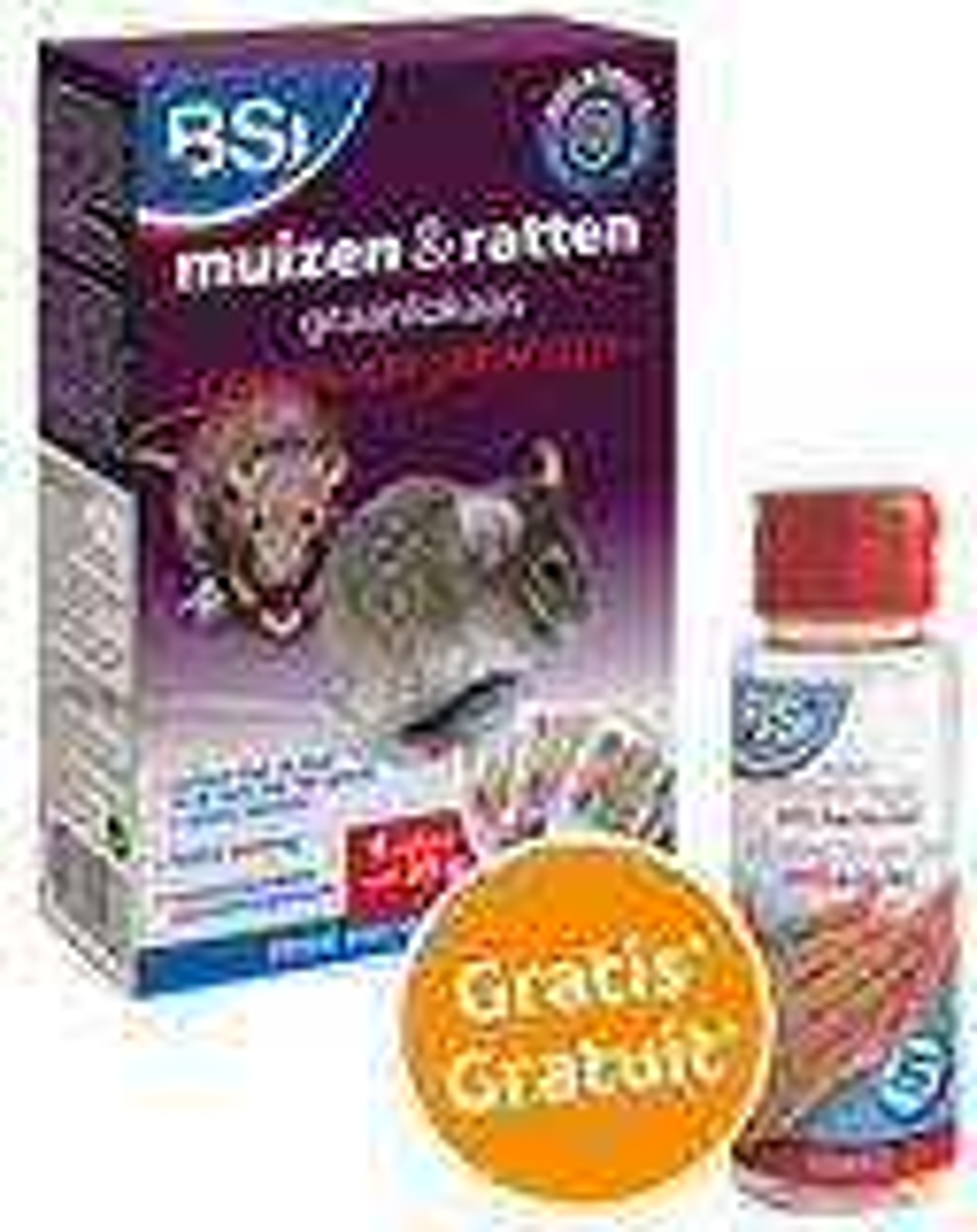 Generation Grain'Tech 150 gr muizen- en rattenvergif