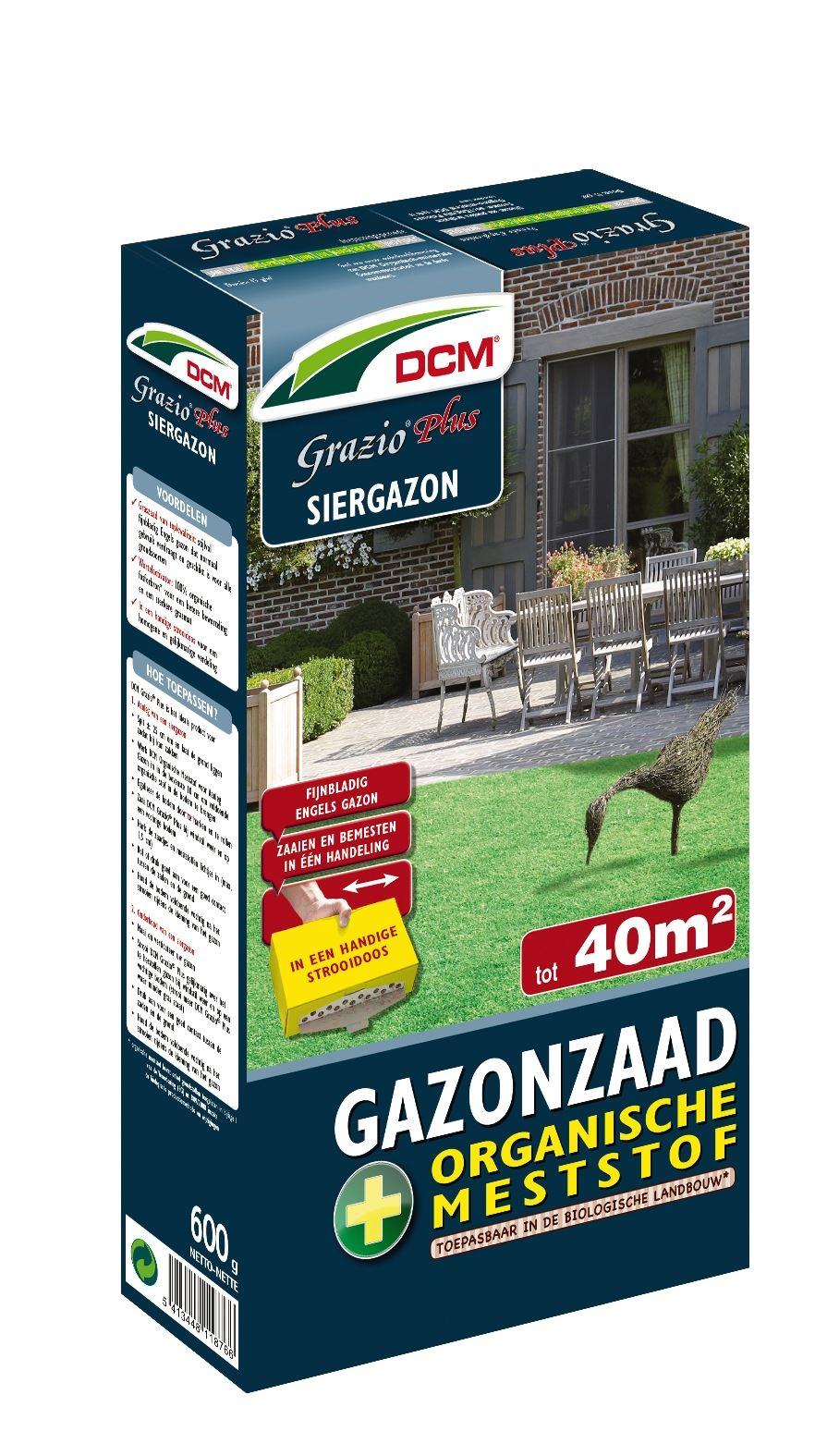Grazio plus - Zeer fijn fngels siergazon inclusief meststof 600gr