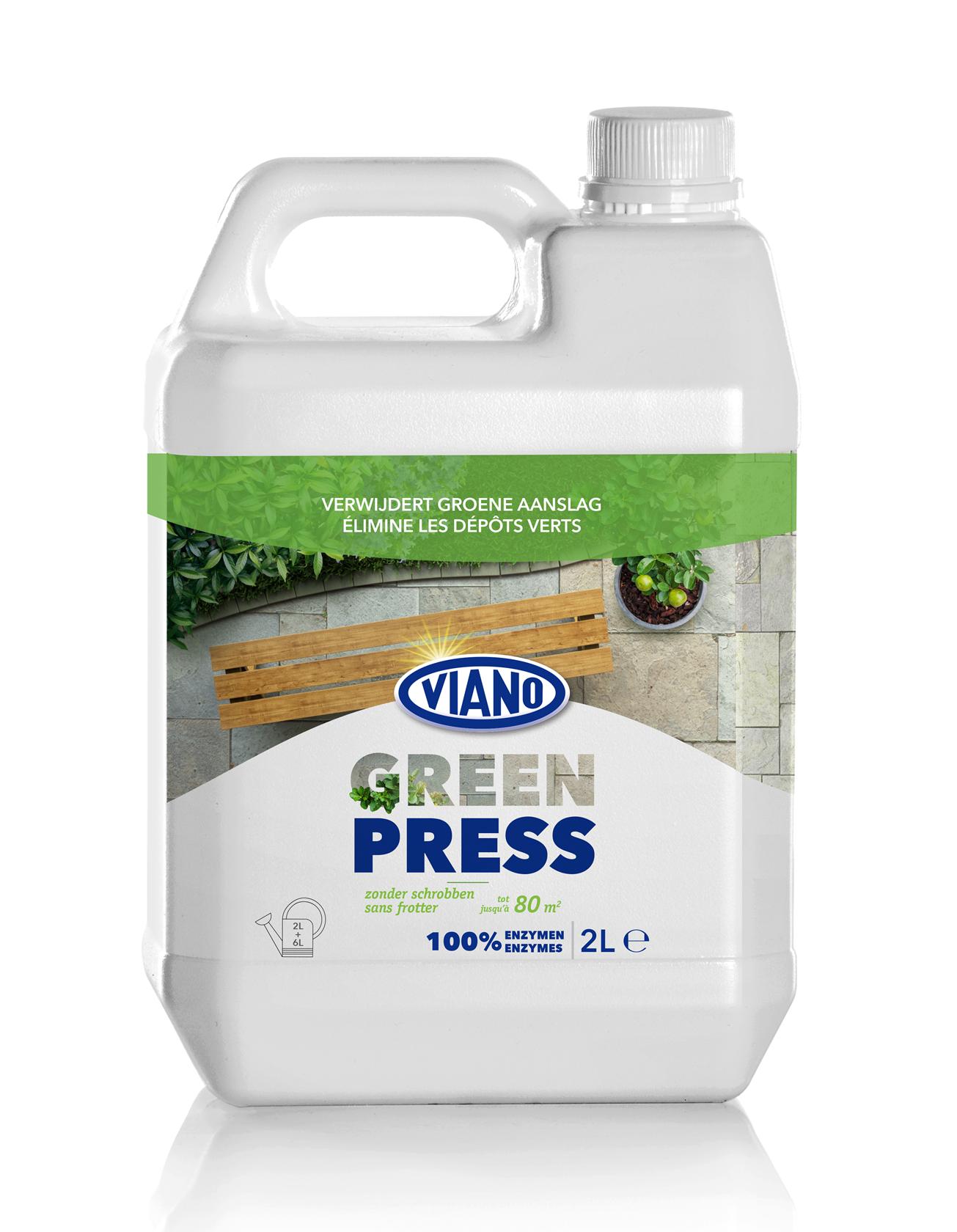 Green-Press verwijdert groene aanslag 2L