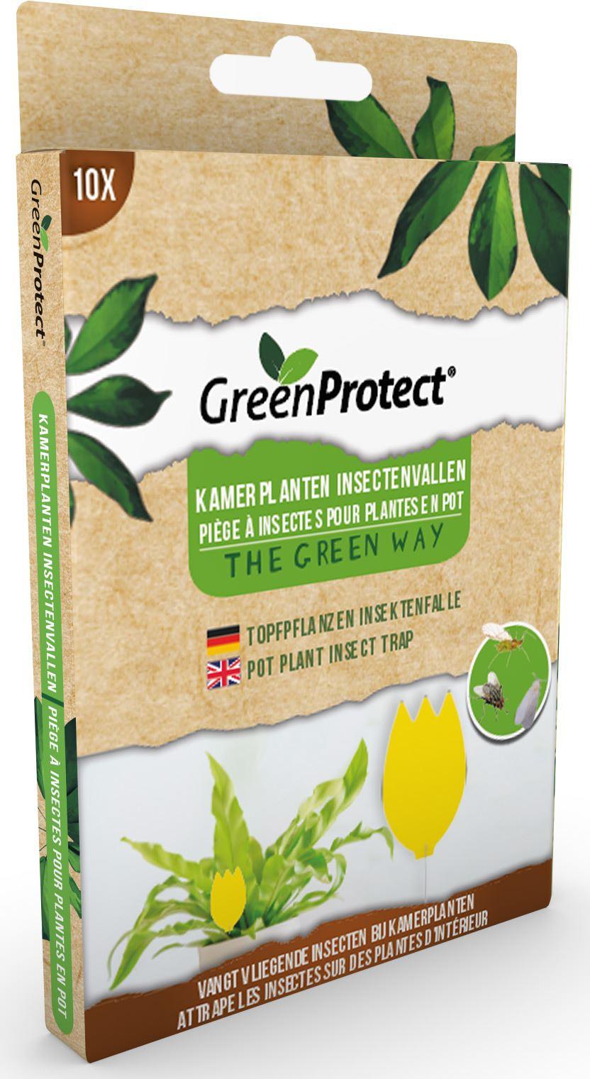Greenprotect kamerplanten insectenvallen 10 stuks