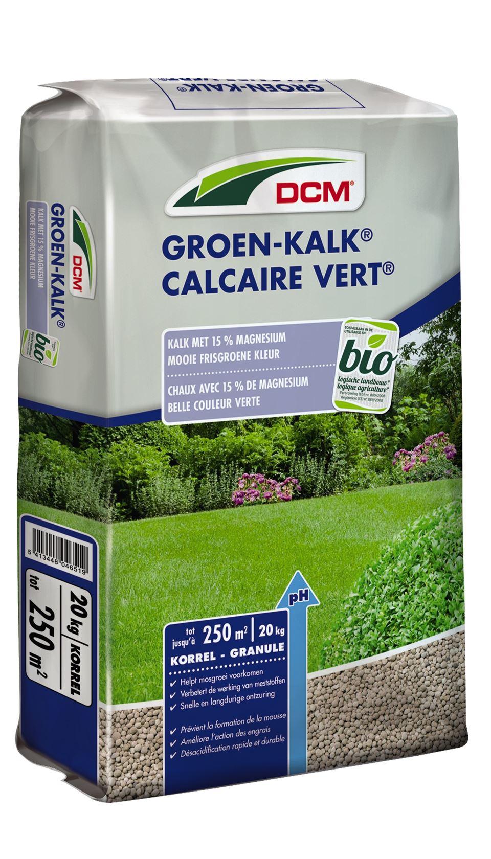 Groen kalk 20kg - Bio