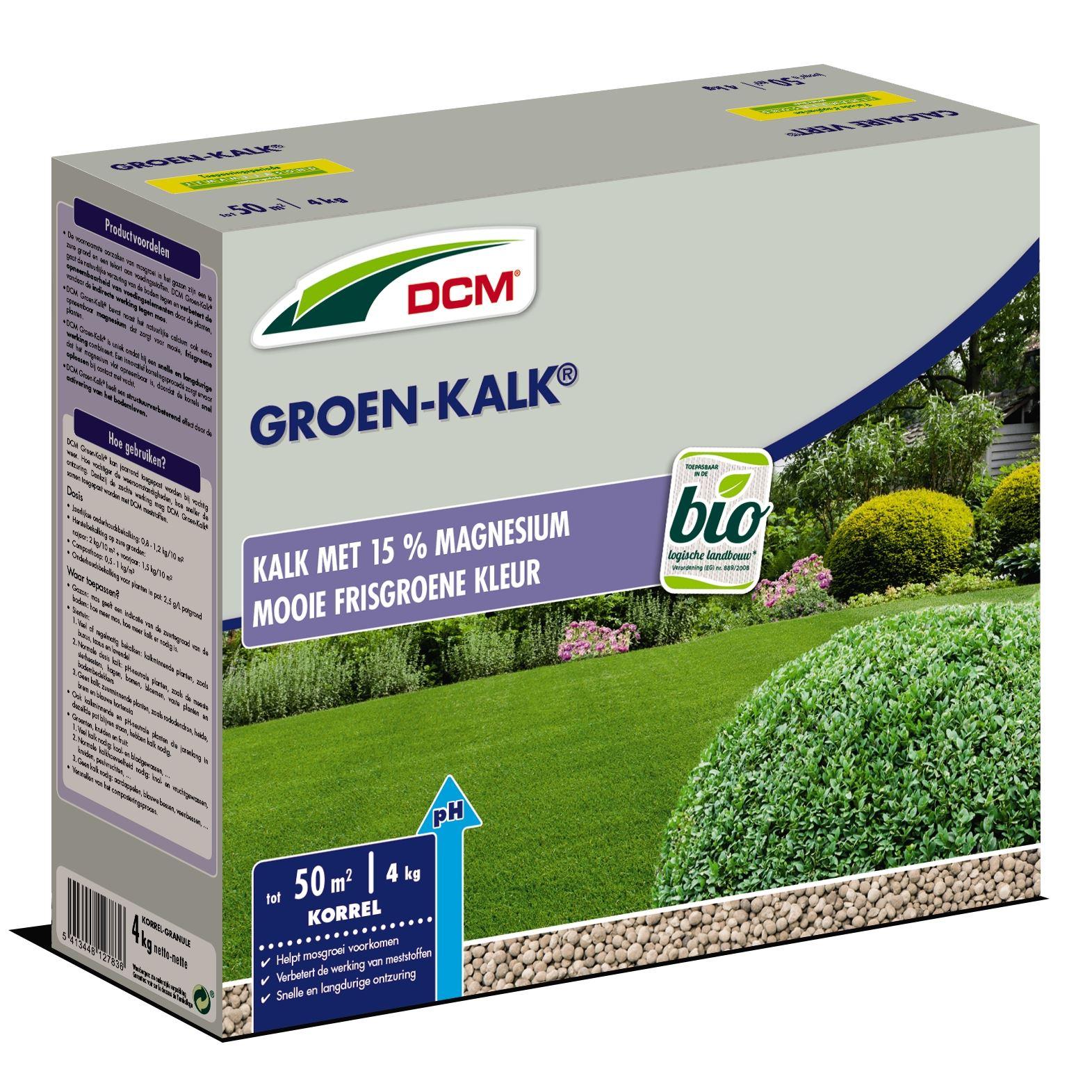 Groen kalk 4kg - Bio