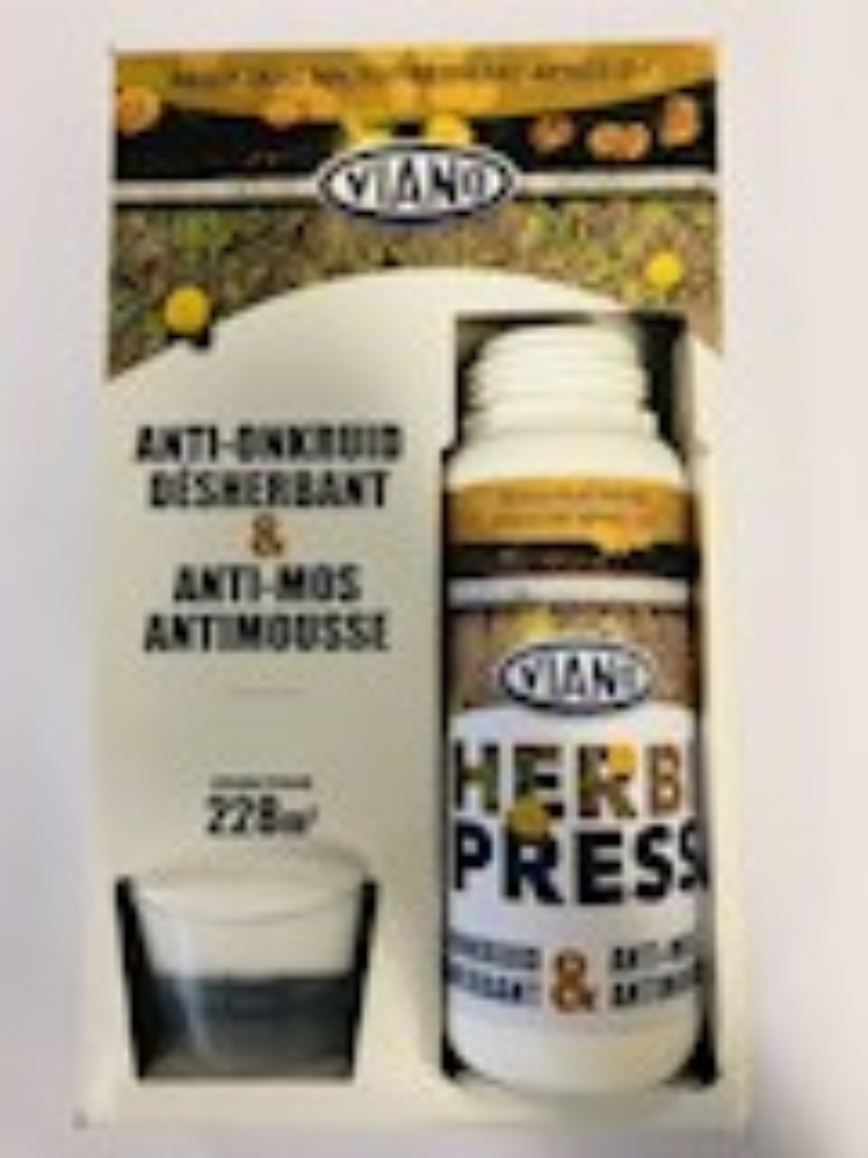 Herbi press 0,5L - tegen onkruid en mos
