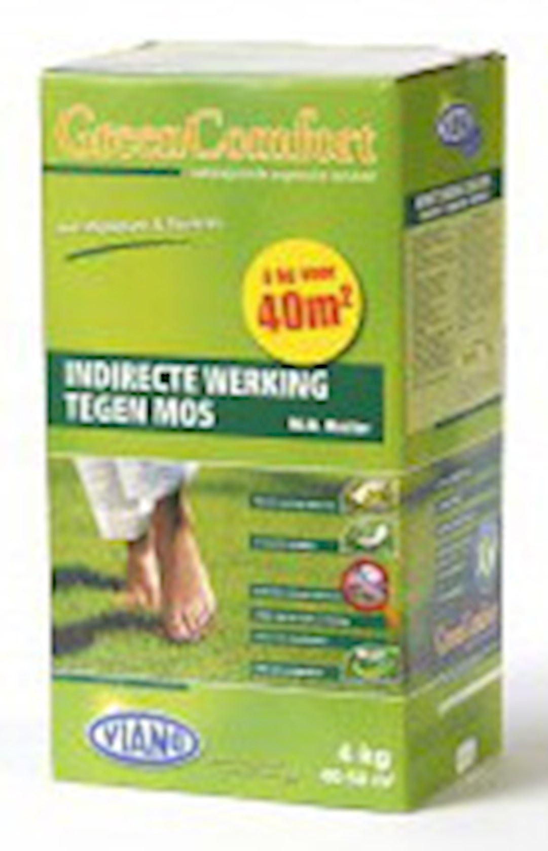 Indirecte werking tegen mos doos 4kg