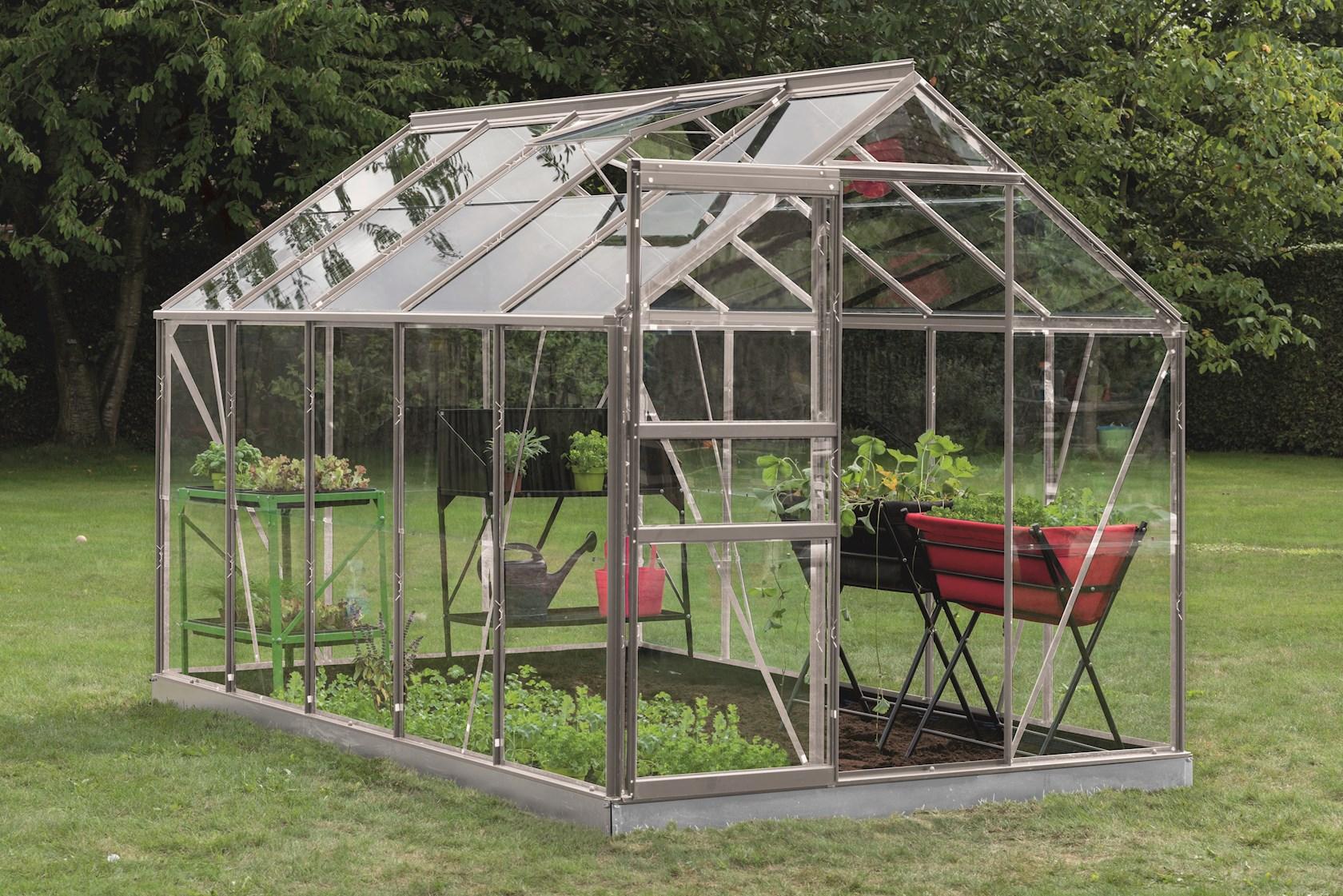 Intro Grow - Lily - 6,2m² Aluminium