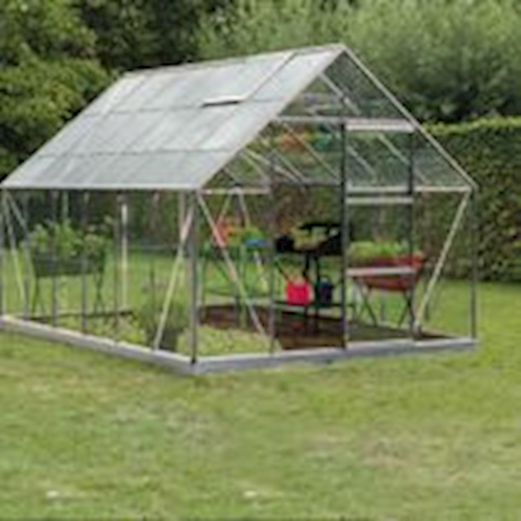 Intro Grow - Oliver - 9,9m² Aluminium