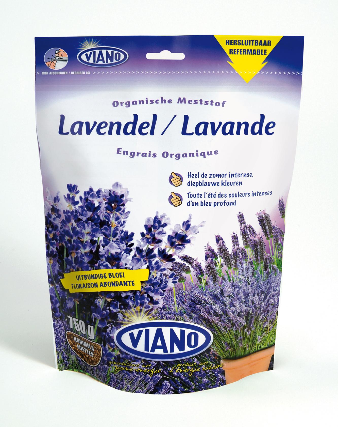 Lavendel meststof zakje 750 gr