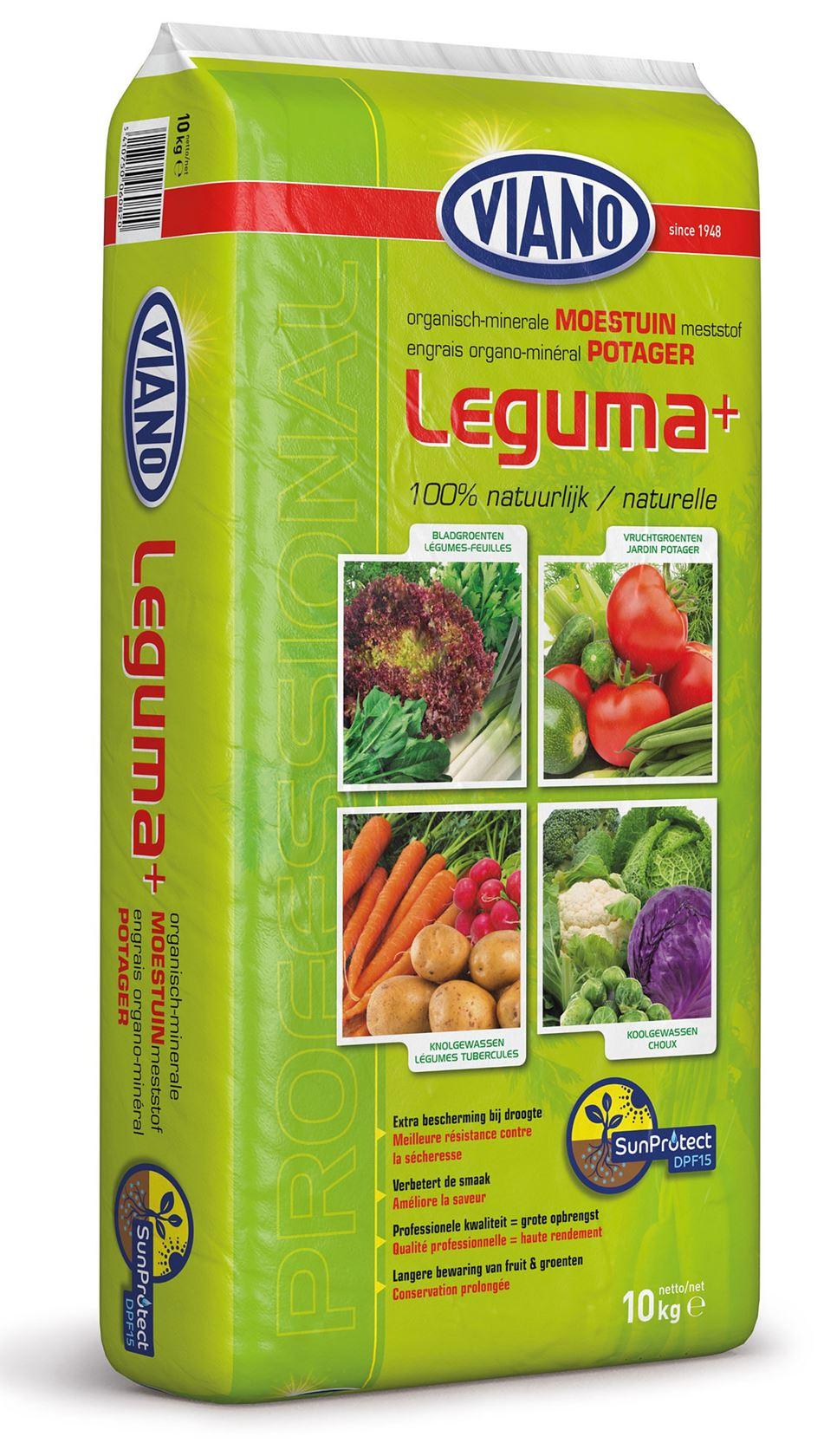 Leguma+ 10kg moestuin meststof meststof met SunProtect DPF 15