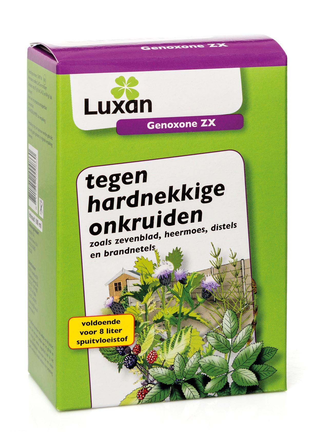 Luxan genoxone zx - 100 ml - tegen onkruiden (spaart grassen)