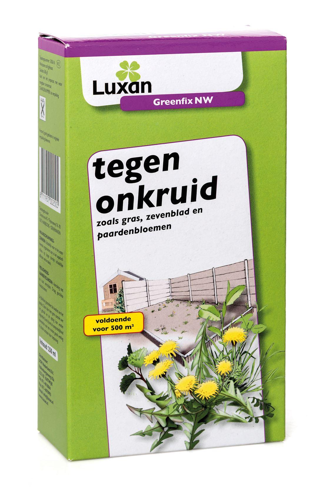 Luxan greenfix nw - 250 ml - tegen onkruiden