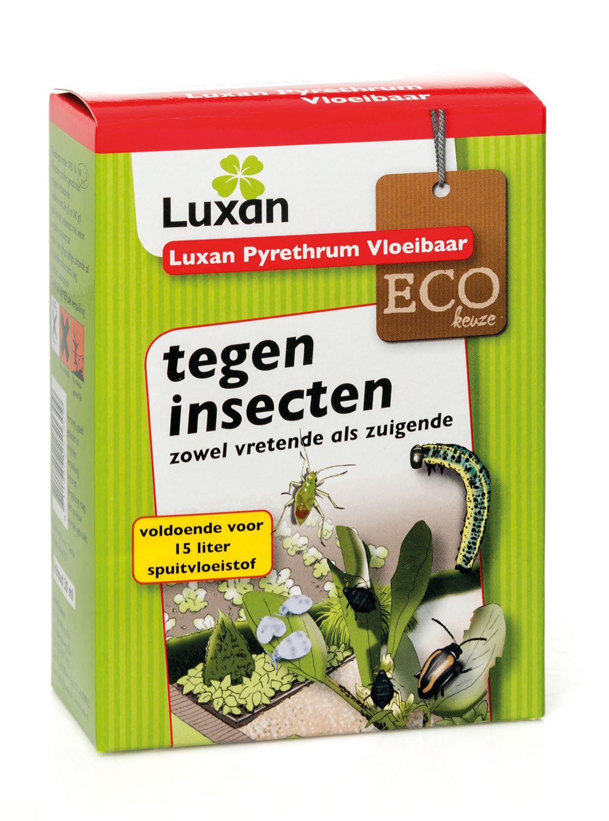 Luxan pyrethrum vloeibaar - 30 ml - tegen vele insecten