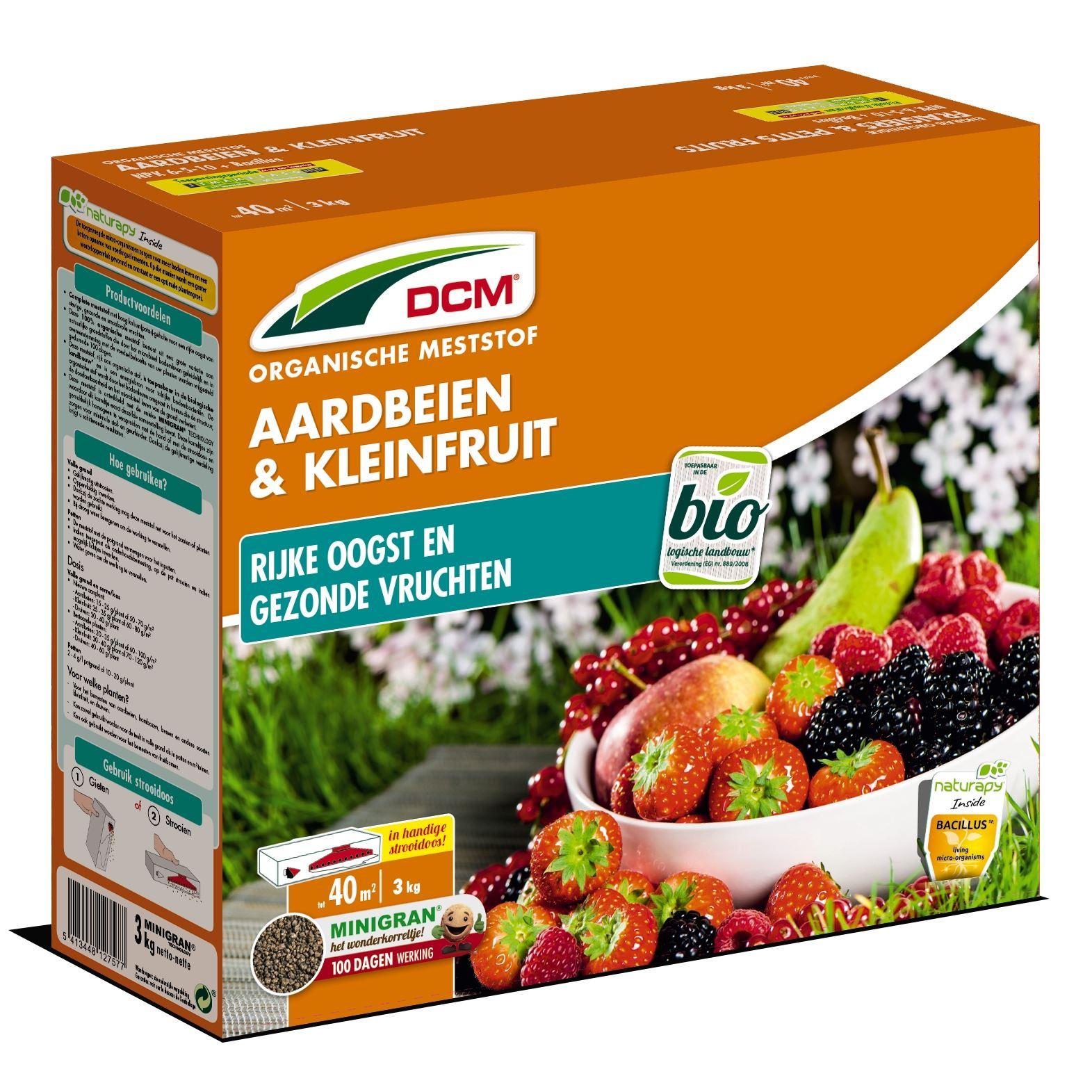 Meststof aardbeien en kleinfruit 3kg - Bio