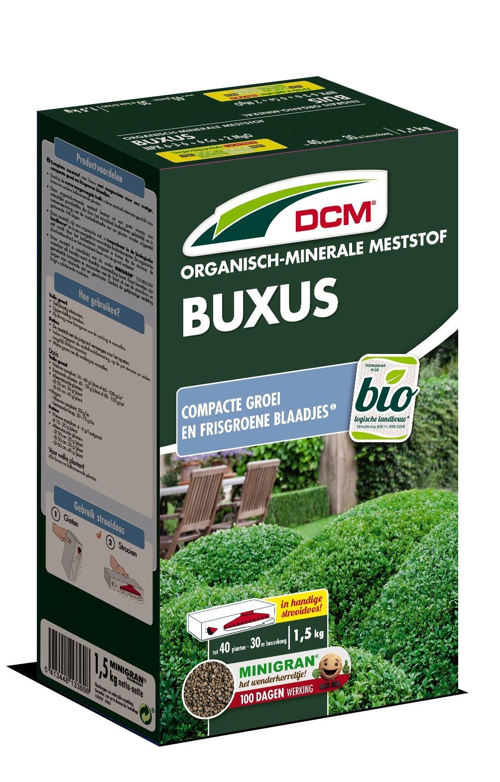 Meststof buxus 1,5kg - Bio