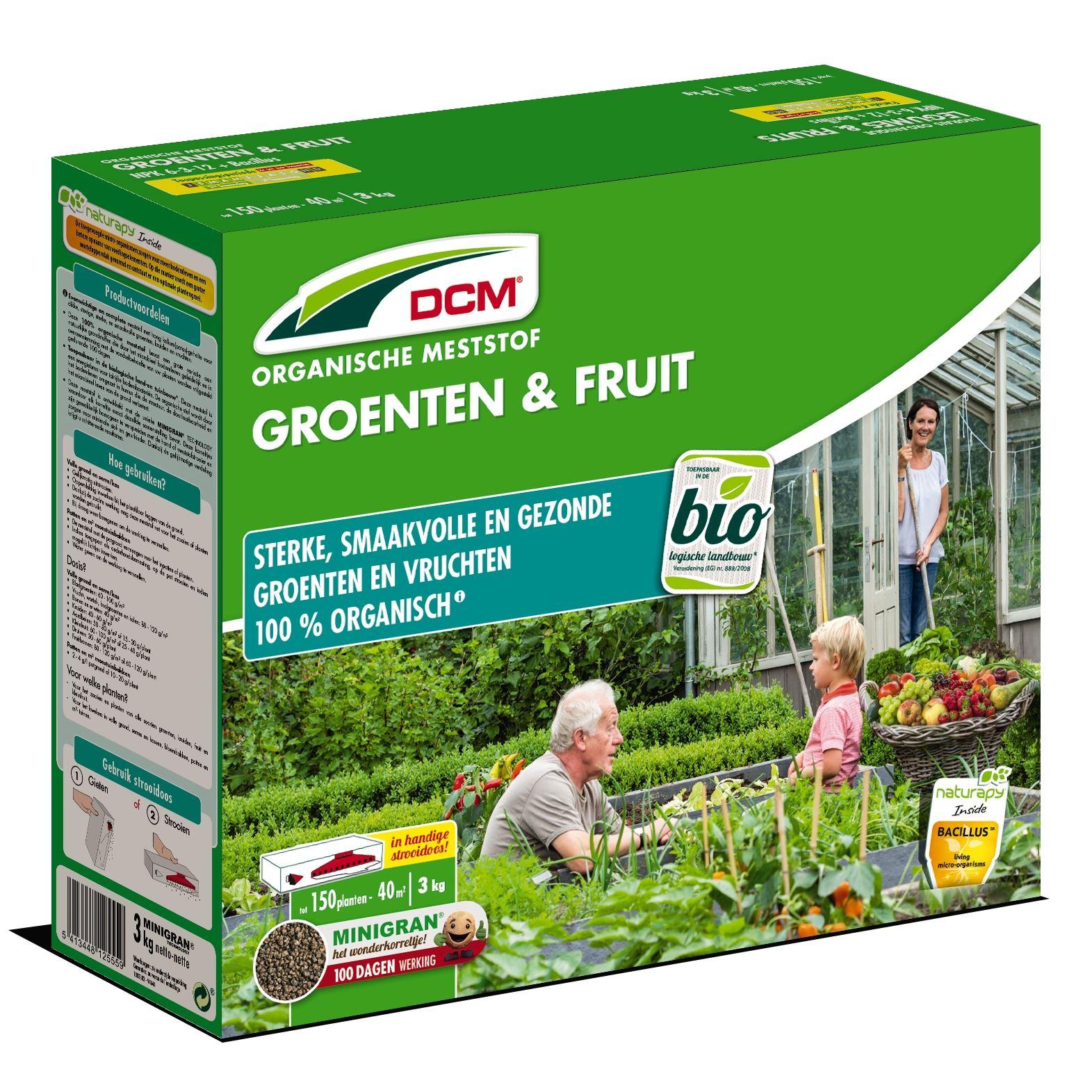 Meststof groenten en fruit 3kg - Bio
