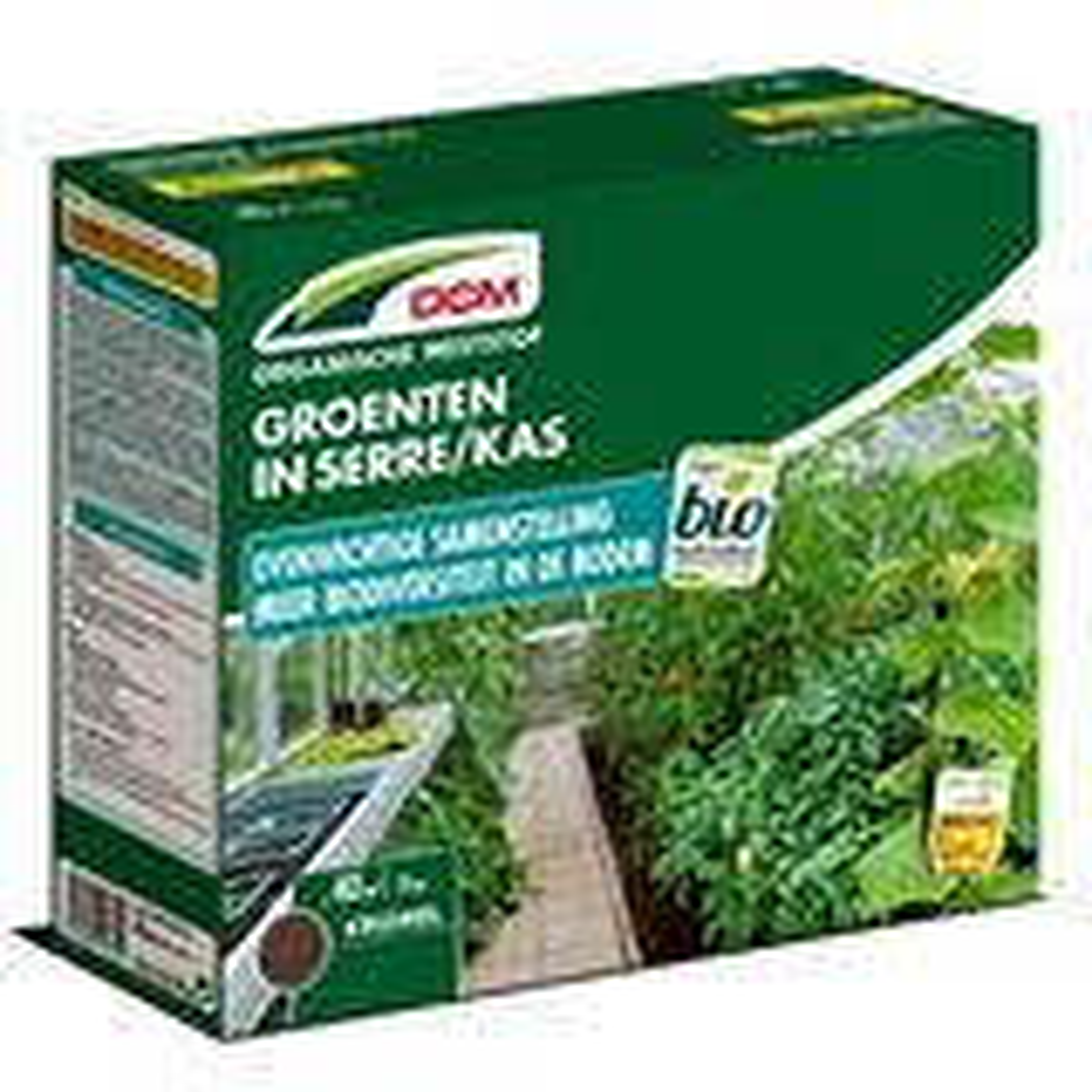Meststof groenten in serre 3kg - Bio