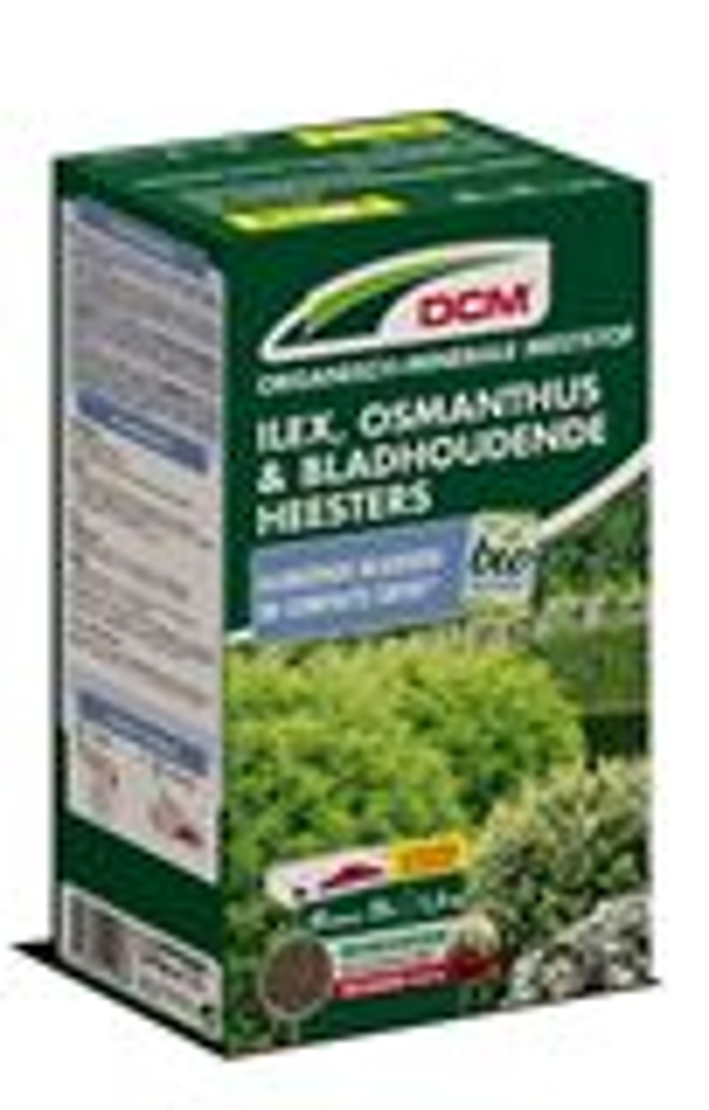 Meststof Ilex, osmanthus & bladhoudende heesters 1,5kg - Bio
