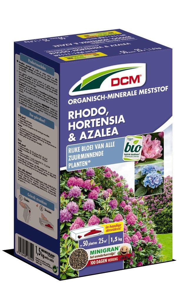 Meststof rhododendron, hortensia & azalea 1,5kg - Bio